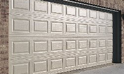 Statesman corotex whote sectional steel garage door white