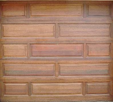 Single doors for Garage door patterns
