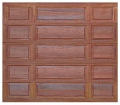 Contemporary Single Garage Doors Wooden Inside Decor
